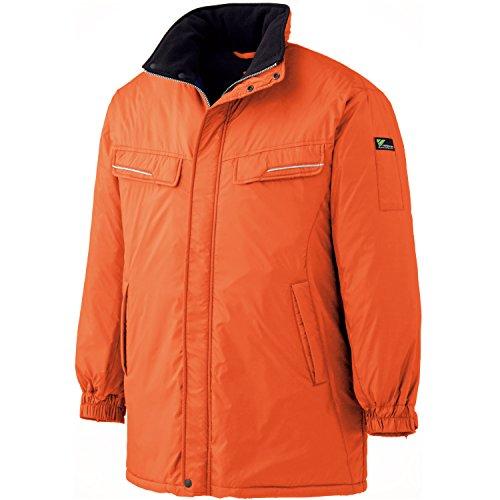 ミドリ安全 【VERDEXCEL】 《軽量・防寒》 コート VE1014 オレンジ5L