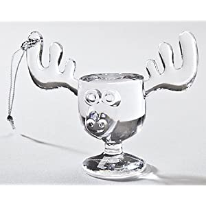 #!Cheap Christmas Vacation Style Mini Moose Mug Griswold Tree Ornament