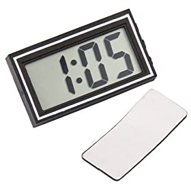SODIAL(R) Digital LCD Car Dashboard Desk Date Time Calendar Clock