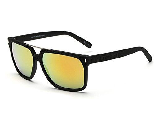 Konalla Wayfarer Sunglasses Mirrored Lens Classic Retro Vintage Style Design C4