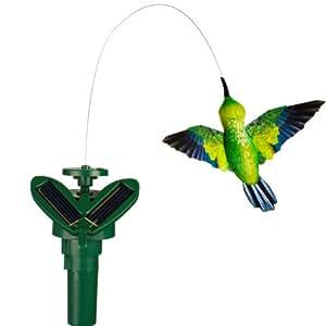 Headwind Consumer Products 830-1407 Solar Fluttering Hummingbird