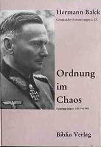 Ordnung Im Chaos