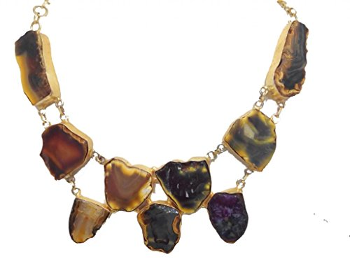 Aabhushan Multi color Graceful stone necklace For Women (multicolor)