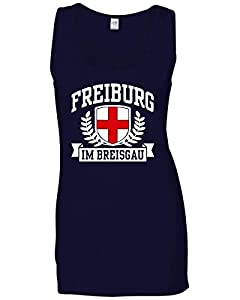 T-Shirtshock - T-shirt Frauen armellos TSTEM0268 freiburg im breisgau tshirt