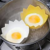 Caraselle Pack of Two Silicone Egg Poachers