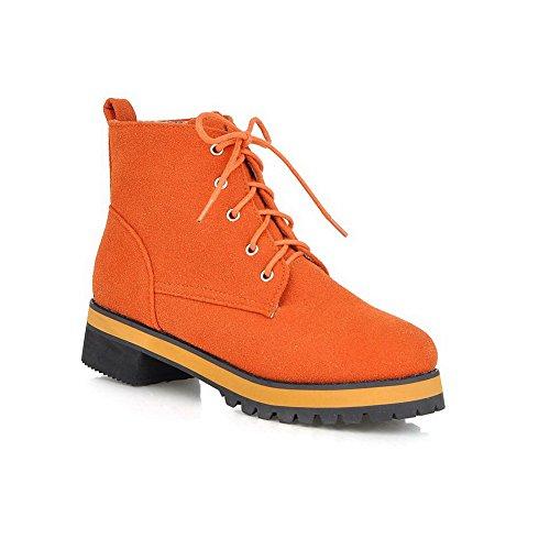balamasa-girls-square-heels-bandage-platform-jacinth-frosted-boots-65-uk