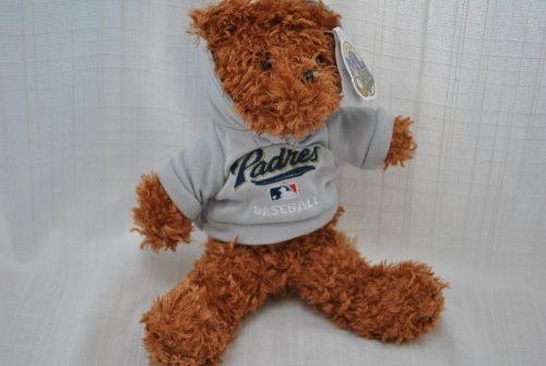 41DpJkpNTzL Reviews MLB Team San Diego Padres special fabric hoody Teddy Bear
