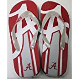 Alabama Crimson Tide NCAA Unisex Big Logo Flip Flops at Amazon.com