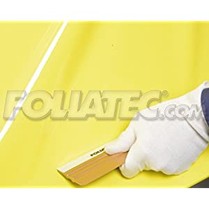Foliatec - 32102 - CARWRAPPING film Basic Line shiny glossy yellow - 1.52 x 1.00 m per meter running -