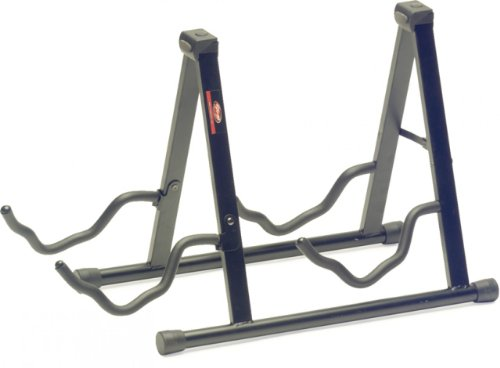 Stagg Sg-A008/2Bk Double Guitar Stand For Acoustic/Electric Guitars - Black