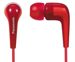Panasonic RP-HJE140-R L-shaped Ear Earbud Headphone