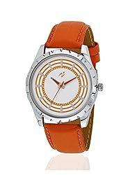 Yepme Jiyan Mens Watch - White/Orange -- YPMWATCH2092