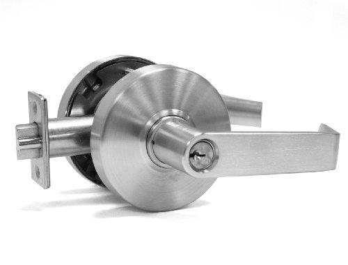 Best Lever Handle Lock for Electric Locks ~ Buzzer Lock System 365B FAUTLESS (Storeroom Schlage Lock Keyway) (Store Room Door Handles compare prices)