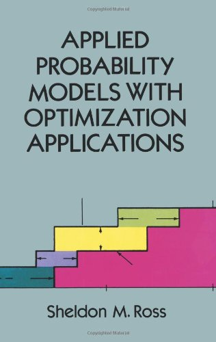 Applied Probability Models with Optimization Applications (Dover Books on Mathematics) Image
