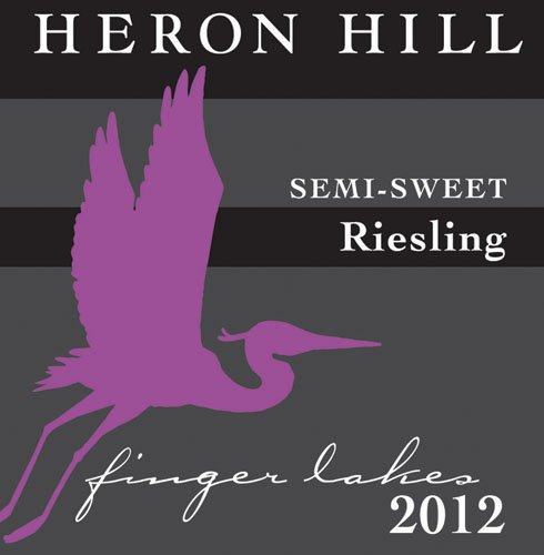 2012 Heron Hill Classic Semi-Sweet Riesling 750 Ml