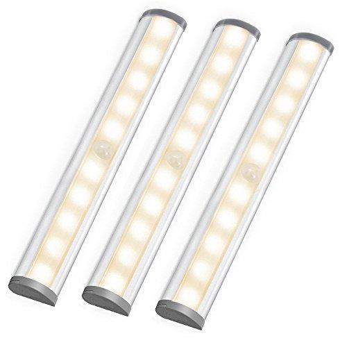 LE-LED-Unterbauleuchte-Kabellose-Innenleuchten-batteriebetrieben-Warmwei-3000-Kelvin-berall-mit-Magnetstreifen-Aufklebbar-115-Abstrahlwinkel-LED-Lichtleiste-Kchenlampen-Schrankleuchten-Ultra-dnne-Vitr