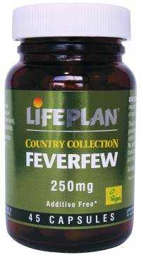 Lifeplan Feverfew 30 Capsules Herbs & Plants Well Being - Size: 30 Capsules