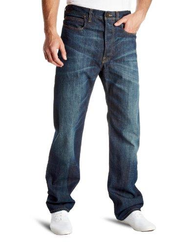 Lee 50's Cinch Loose Men's Jeans Blue Payday W30 InxL34 In