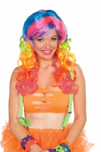 Forum Club Candy Long Candi Swirl Wig