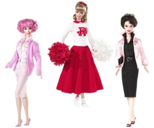 grease barbie dolls - Barbie in Grease! Sandy, Rizzo, & Frenchie Set of Three