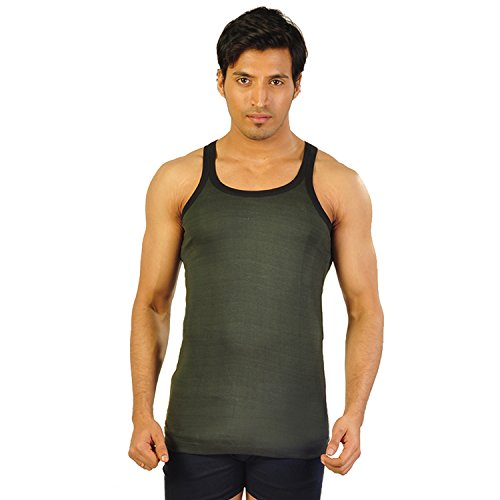 Young Fighter Men's Grey Gym Vest