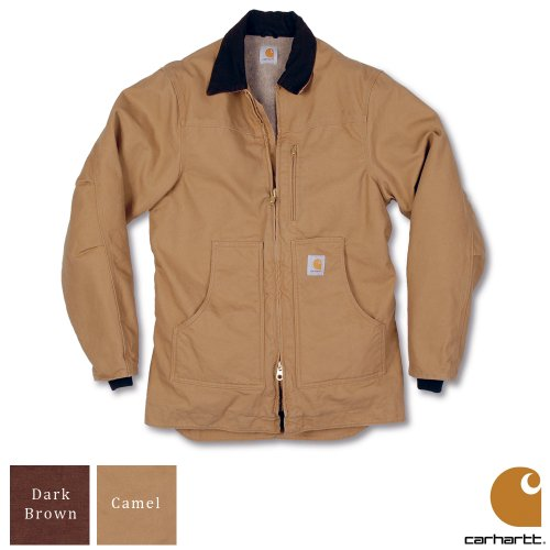 Carhartt Workwear Sandstone Ridge Mens Coat Camel Brown XX-Large