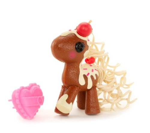 Lalaloopsy Mini Ponies Mocha Baby Pony Figure - 1