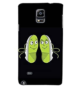 SAMSUNG GALAXY NOTE 4 SHOES Back Cover by PRINTSWAG