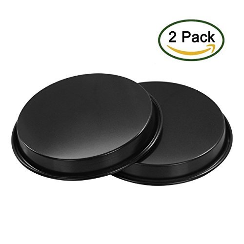 Accmart Set of 2 Pizza Pan Nonstick Bakeware 8-inch (Personal Pizza Pan compare prices)