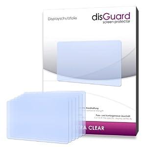 6 x disGuard Ultra Clear Pellicola protettiva a Samsung NX1000 /NX-1000 - Protezione cristallina per il display!