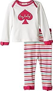 Kate Spade York Kids Baby Girl's Hey Baby Loungewear Set (Infant)