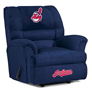 MLB Cleveland Indians Big Daddy Microfiber Recliner by Imperial
