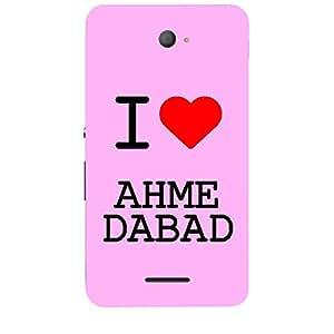 Skin4gadgets I love Ahmedabad Colour - Light Pink Phone Skin for XPERIA E4