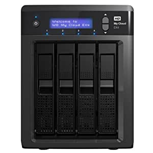 WD My Cloud EX4 NAS/Cloud Personnel - Boîtier NAS 4 baies avec WD RED 8 To