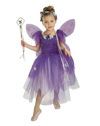 Plum Pixie Toddler Fairy Costume