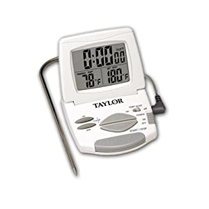Taylor 1470 Digital Cooking Thermometer/Timer