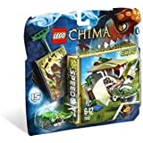 Lego Legends of Chima - Speedorz - 70112 - Jeu de Construction - La Morsure Croco