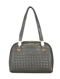 Adamis Beautiful Designed Handbag (Green_B725)