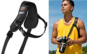 Black Rapid RS-Sport Strap - with Built-in Underarm Defense System