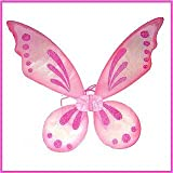 Pink Sparkle Pixie Wings