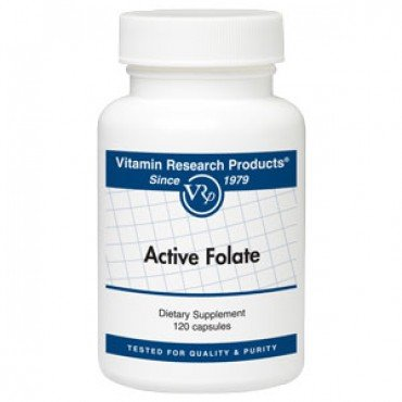 Active Folate, 800 Mcg 120 Cp Brand: Vitamin Research Products