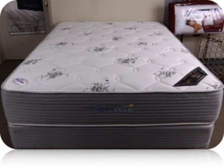Queen Prism Elite Black Firm Mattress By Therapedic Deals