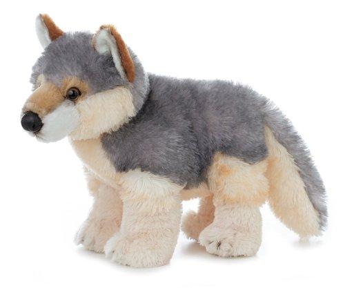 """Aurora Plush Wily Wolf Flopsie - 12"""""""