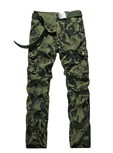 YiJee-Homme-Cargo-Pantalons-Loisir-Travail-Multi-Poches-Vintage-Style-Combat-Camo-Pants
