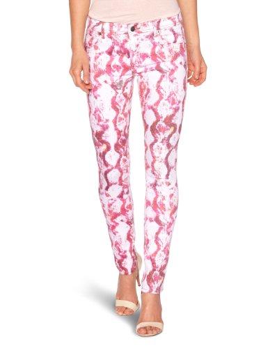 American Retro - Jeans, Donna, Multicolore (Mehrfarbig (Print)), 42 IT (28W/32L)
