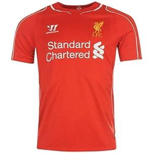 Warrior Mens Liverpool Home Shirt 2014 2015 Red XXXL
