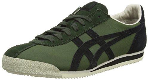 Onistuka Tiger - Tiger Corsair, Sneakers Basse da unisex - adulto, verde (duffel bag/black 7990), 40.5