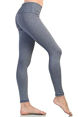 Love Melrose Women's Absolute Active Workout Yoga Running Leggings