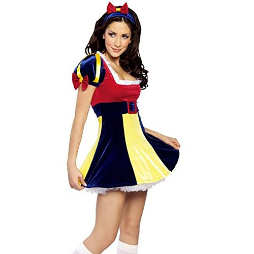 Generic Women's Ladies Pirate Fancy Costume Halloween Deluxe Dress Cosplay Outfit