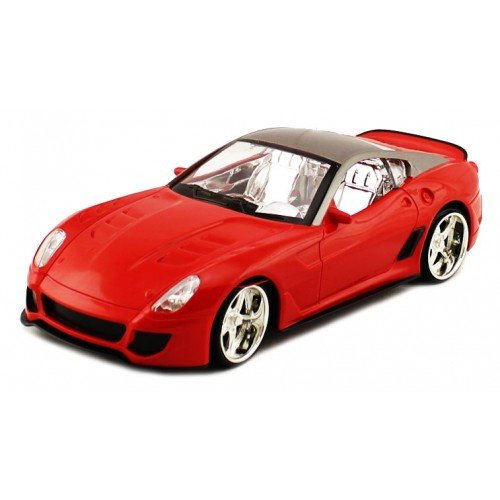 Electric 1:18 Full Function Ferrari GTO 599XX RTR RC Car Remote Control W/ Light up LED Wheels (Colors May Vay)